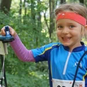 Rado z biegania na orientacj  orienteering
