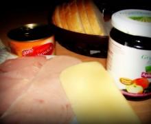 Dżem, ser i wędlina