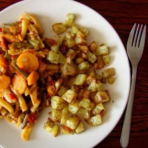 Dzisiaj na obiad leczo i pieczone ziemniaki Kilogram ziemniakw zjadamyhellip