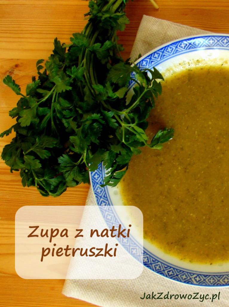 zupa z natki pietruszki