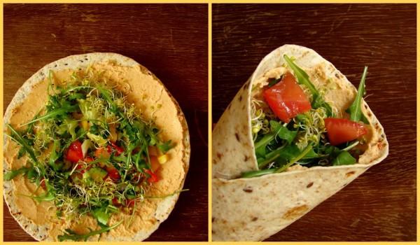 Tortilla wegetariańska