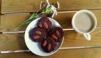 Czekoladowe ciasteczka z kaszy jaglanej