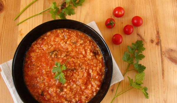 zupa z kaszą jaglaną