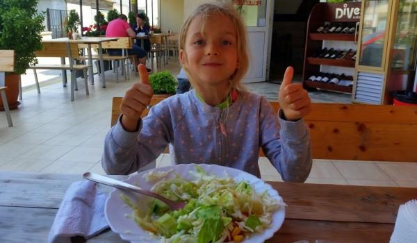 zielone liście dla dziecka