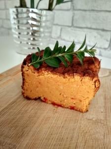 Pasztet z soczewicy, ciecierzycy, marchewki i kaszy jaglanej - Marzena