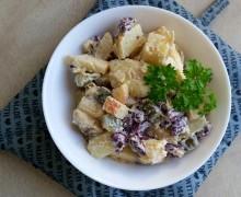 Wegańska sałatka ziemniaczana