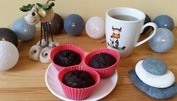 Czekoladowe muffinki z marchewką