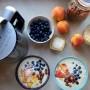 Smoothie bowl z płatkami owsianymi